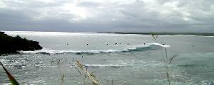 Ceningan Point, Via Nusa Lembongan. a fun wave