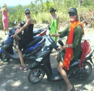 Nusa Lembongan hotels. Bali. Hire a Scooter from Mainski.