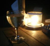 Dine by candlelight on Nusa Lembongan